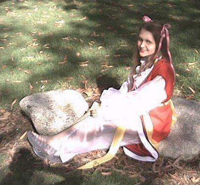Miaka Yuuki from Fushigi Yuugi worn by Lady Diamond
