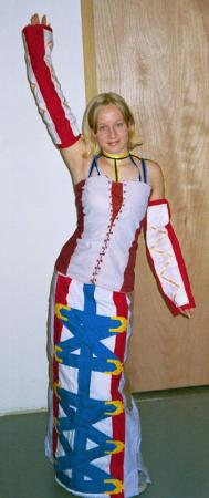 Yuna from Final Fantasy X-2 worn by Kitty-armada