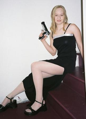 Aya Brea from Parasite Eve worn by Kitty-armada