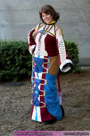 Yuna from Final Fantasy X-2 worn by Lizzy