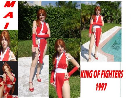 Mai Shiranui from King of Fighters 1997 worn by Aleera