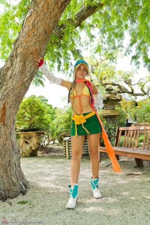Rikku from Final Fantasy X-2 worn by Aleera