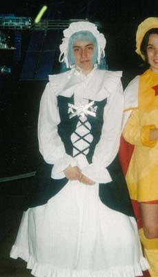 Iron Maiden Jeanne from Shaman King