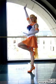 Super Sailor Venus from Sailor Moon Super S worn by AkaneSaotome