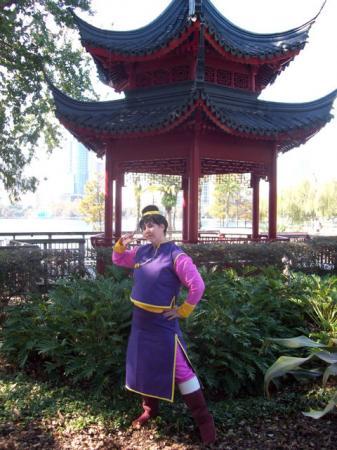 Chichi from Dragonball Z