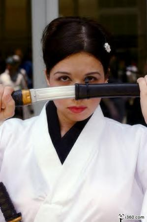 O-ren Ishii from Kill Bill worn by Goblin Girl