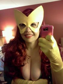 Marvel Girl from X-Men worn by Goblin Girl