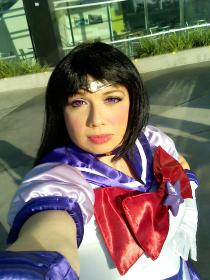 Sailor Saturn from Sailor Moon worn by Goblin Girl