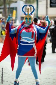 Mumm-Ra from Thundercats worn by Goblin Girl