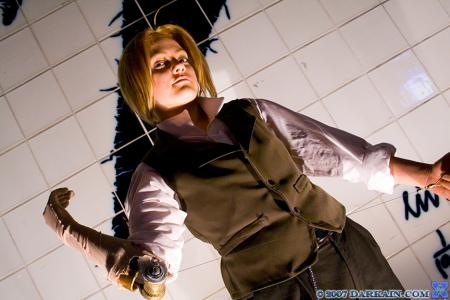 Edward Elric from Fullmetal Alchemist worn by BAT