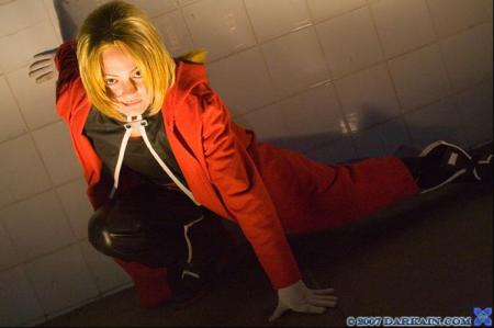 Edward Elric from Fullmetal Alchemist worn by BAT