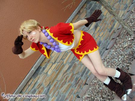 Kidd Zeal from Chrono Cross worn by Lilacwire