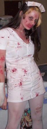 Demon Nurse from Silent Hill 2 worn by SuthrnBelleChan