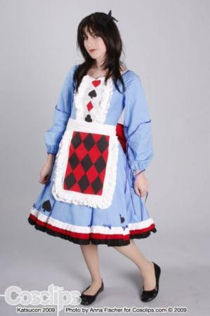 Alice from Alice in Wonderland worn by Natalie