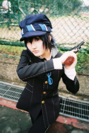 Naoto Shirogane from Persona 4 worn by Hikou