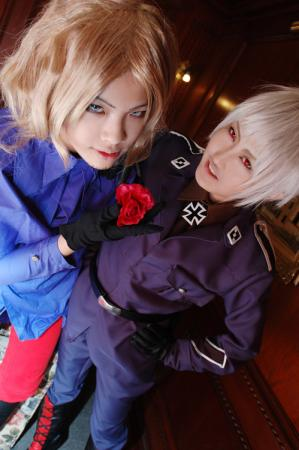 Prussia / Gilbert Weillschmidt from Axis Powers Hetalia worn by Hikou
