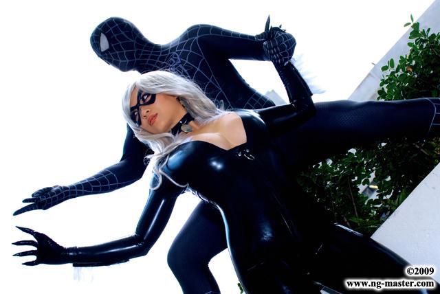 spiderman black cat costume - 640×428