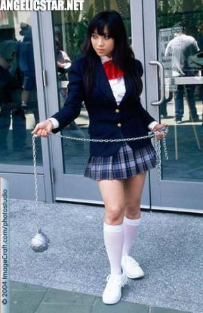 GoGo Yubari from Kill Bill worn by Yaya (AngelicStar)