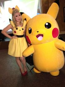 Pikachu from Pokemon worn by Die