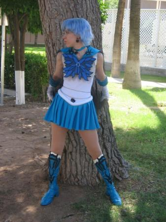 Dark Mercury from Pretty Guardian Sailor Moon worn by NyuNyu