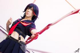 Matoi Ryuko from Kill la Kill (Worn by NyuNyu)