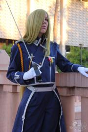 Olivier Milla Armstrong from FullMetal Alchemist: Brotherhood worn by NyuNyu