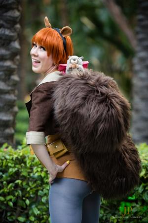 Squirrel Girl from Marvel Comics worn by NyuNyu