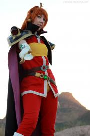 Lina Inverse from Slayers worn by NyuNyu