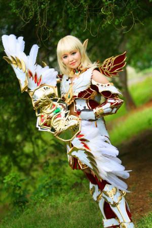 Female Elf from Lineage II worn by PinkyLuXun