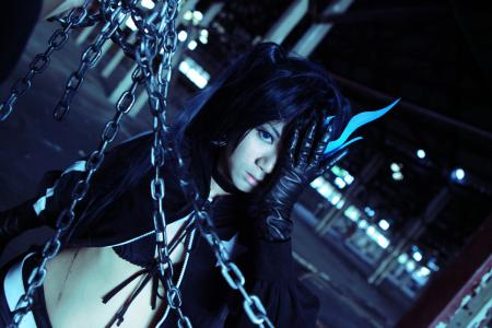 Black Rock Shooter from Black Rock Shooter worn by SFSakana