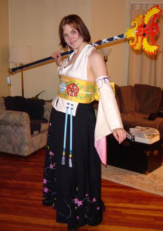 Yuna from Final Fantasy X worn by Koumori