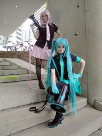 Megurine Luka from Vocaloid 2 worn by Catsiy
