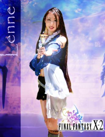 Lenne from Final Fantasy X-2 worn by Angel Wings Rinoa