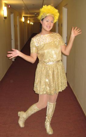 Hitomi Yoshizawa from Morning Musume worn by Mandy Mitchell