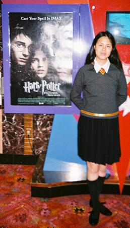 Gryffindor Student from Harry Potter worn by Mandy Mitchell