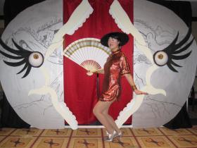 Club Obi Wan Showgirl from Indiana Jones worn by Mandy Mitchell