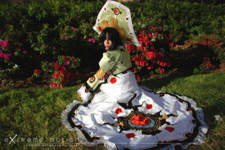 Seth Nightlord / Augusta Vradica from Trinity Blood worn by Flipper