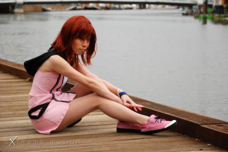 Kairi from Kingdom Hearts 2 worn by Flipper