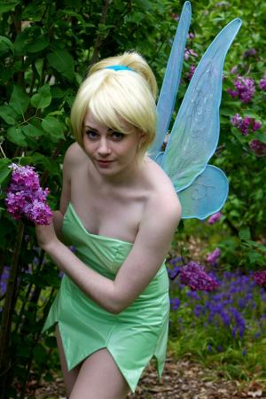 Tinker Bell from Peter Pan worn by Sillywhims