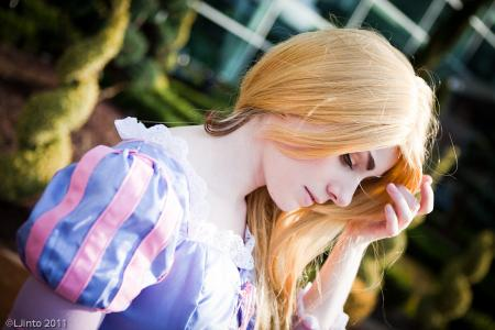 Rapunzel from Tangled worn by Sillywhims
