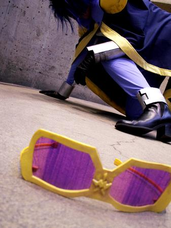 Ken Ichijouji / Digimon Kaiser from Digimon Adventure 02 worn by CyberBird