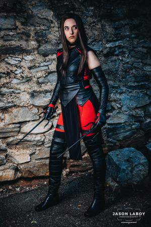Elektra Natchios from Daredevil worn by CyberBird