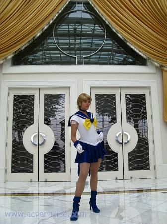 Sailor Uranus from Sailor Moon S (Worn by CyberBird)