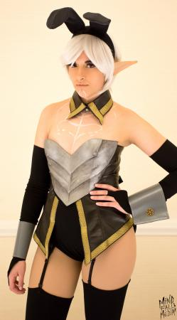 Fenris from Dragon Age 2 worn by CyberBird