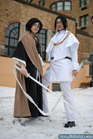 Ishida Uryuu from Bleach worn by Eve