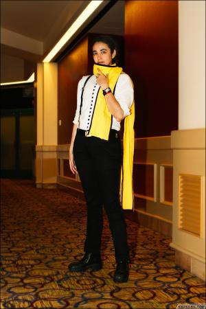 Ryoji Mochizuki from Persona 3 worn by Eve