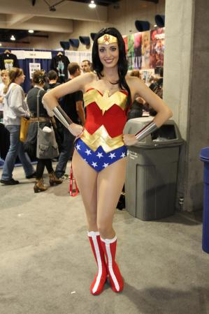 Wonder Woman from DC Comics worn by Katie