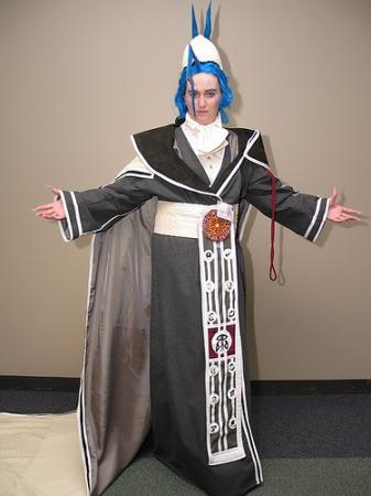 Seymour Guado from Final Fantasy X worn by Amidoji