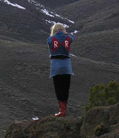 Android #18 from Dragonball Z worn by Amidoji