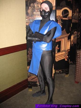 Sub-zero from Mortal Kombat worn by Amidoji